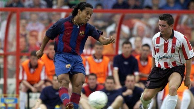 UFABETWIN เวลา Ronaldinho และ Barca Graced The Brandywell